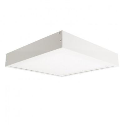 Panneau dalle led 60x60 40W+cadre blanc-4000lm