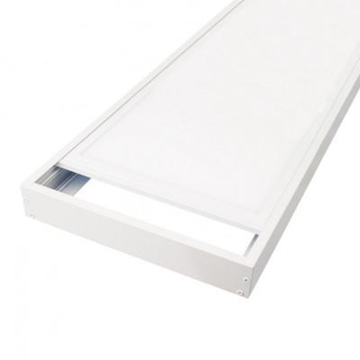 Kit saillie Dalle led panneaux lumineux 30X120cm-40w-4000lm