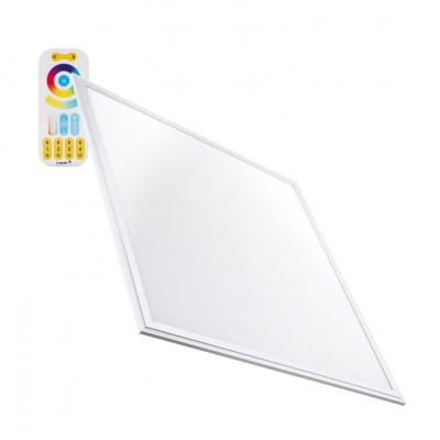 Panneaux led plafonnier 60x60cm rgb+ cct radio variable couleurs