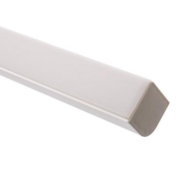 Profilé Aluminium ANGLE avec diffuseur opaque Continu pour Ruban LED