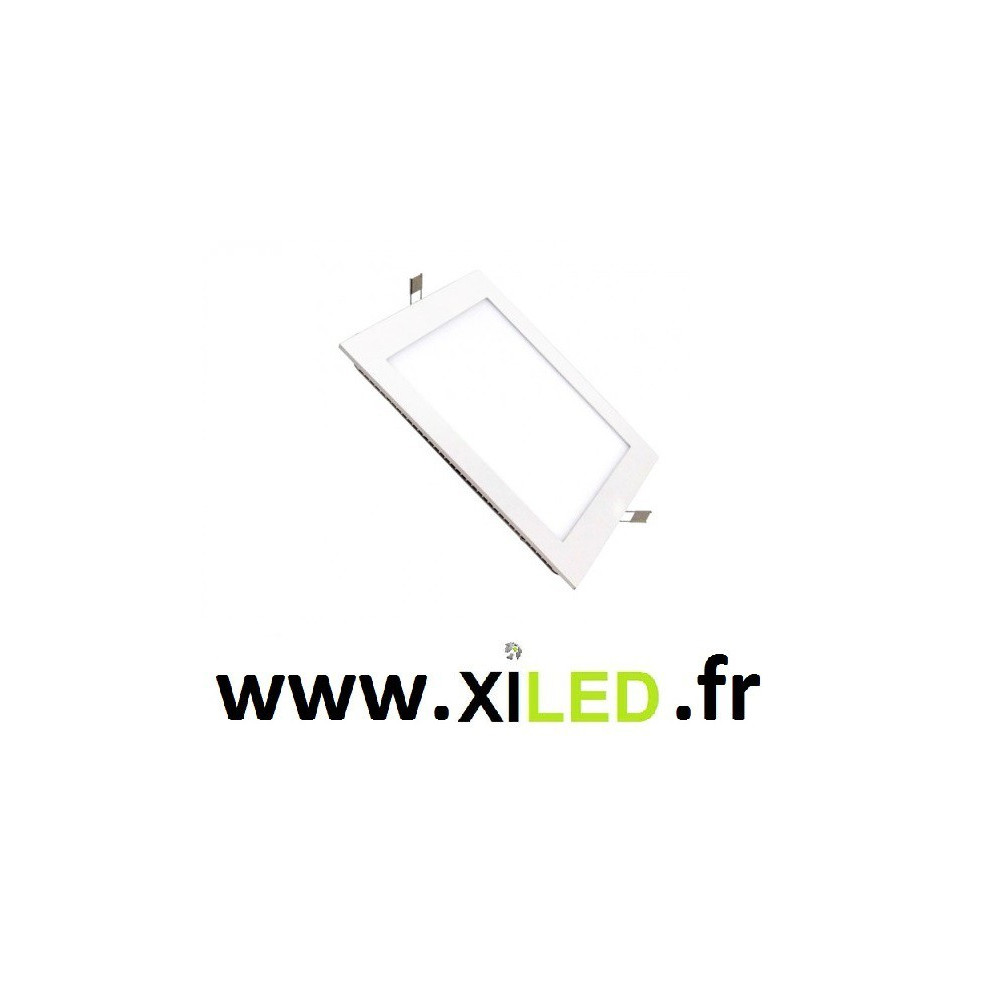 Spot Encastrable carre blanc 15w LED
