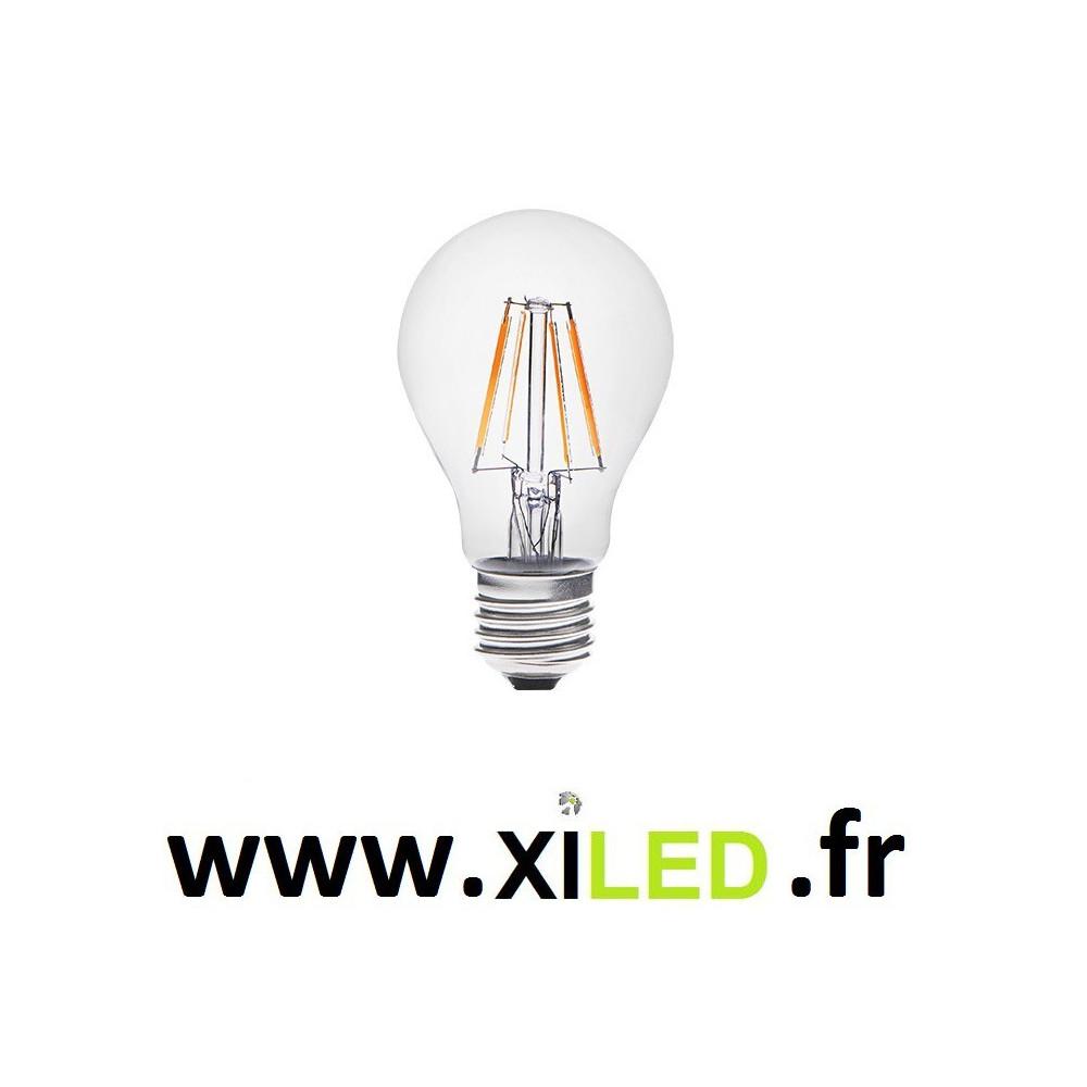 ampoule led forme standart remplacement 60w halogene basse consommation. Black Bedroom Furniture Sets. Home Design Ideas