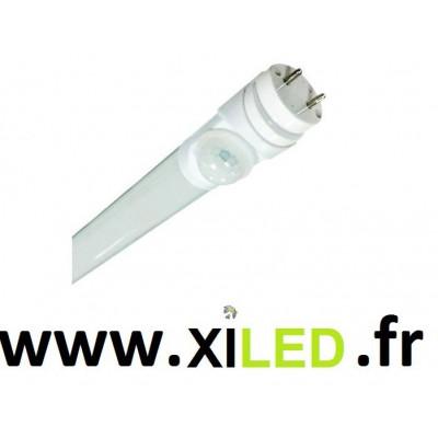 Tube LED T8 60cm 9w 6000K avec détecteur de présence