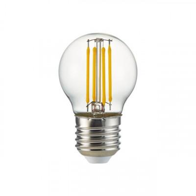 ampoule led filament petit ballon culot e27 4w-40w halogene