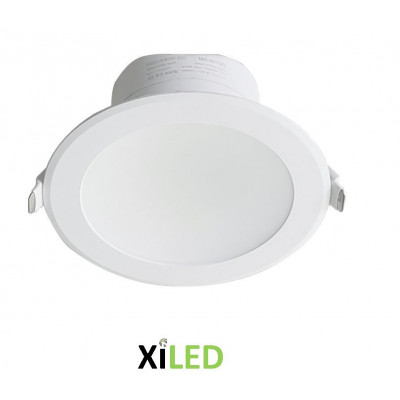 spot downlight led blanc salle de bain-variable-ip44-2200 lumens