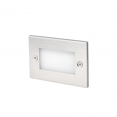 GRON LED LAMPE ENCASTRABLE NICKEL MAT