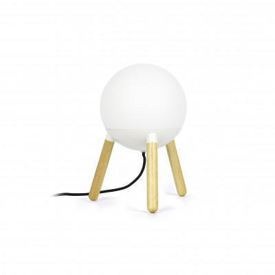 MINE LAMPE DE TABLE BLANCHE