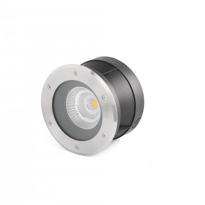 SURIA-24 LED LAMPE ENCASTRABLE INOX 24°