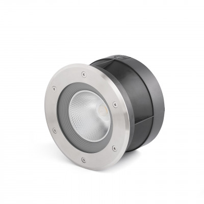 SURIA-24 LED LAMPE ENCASTRABLE INOX 60°