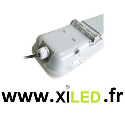 réglette étanche 120cm LED 46w-blanc jaune 4500k