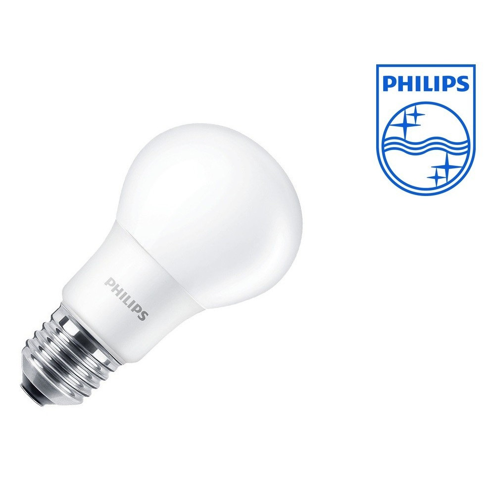 ampoule led philips culot e27 forme standard 60w halogene