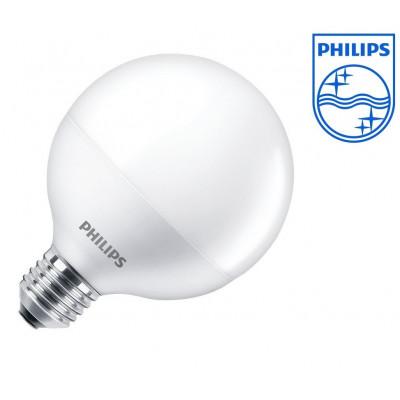 ampoule led philips culot e27 forme globe 60w halogene