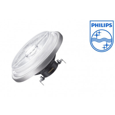 ampoule ar111 led philips-12v-20w-angle 24°-dimmable 1250lm-3000k