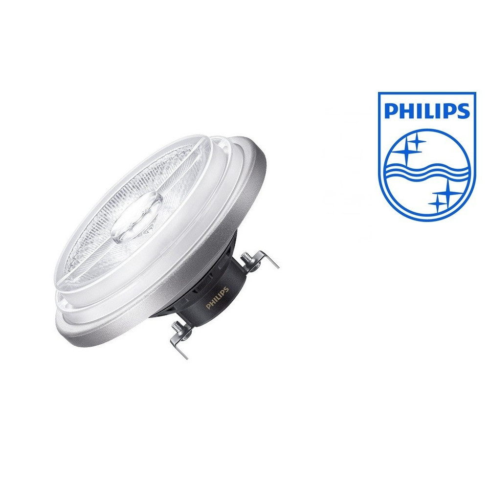 ampoule ar111 led philips 12v angle 24 dimmable 1250lm. Black Bedroom Furniture Sets. Home Design Ideas