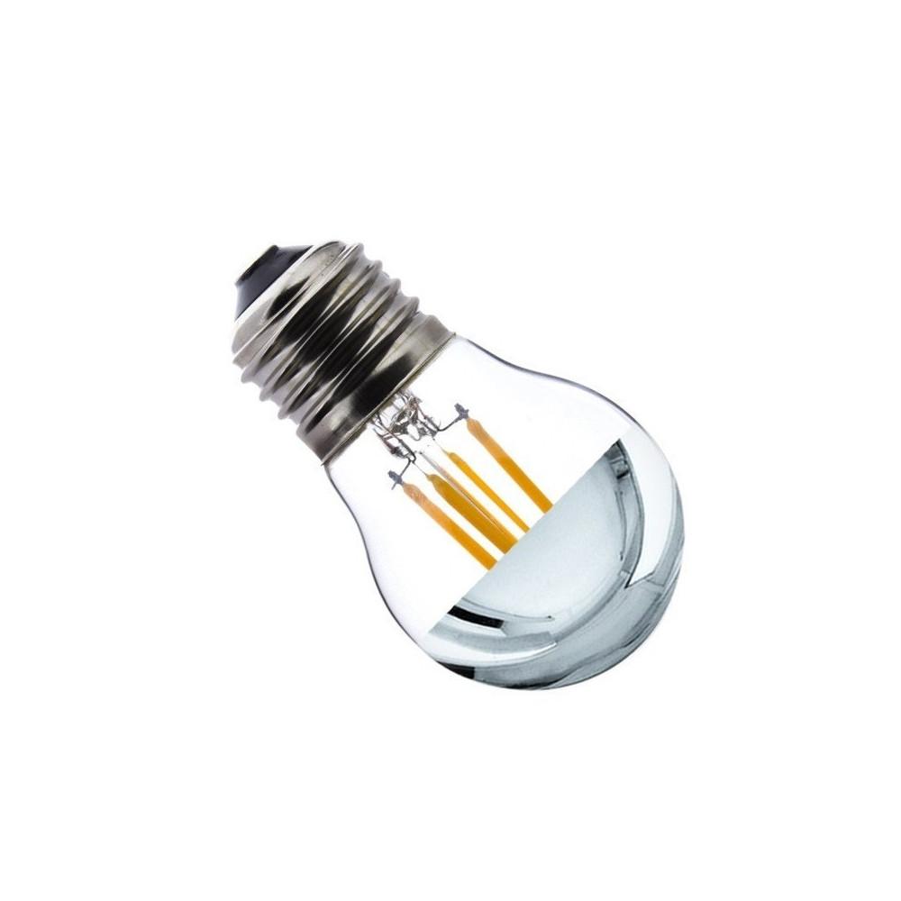 ampoule led filament culot e27 verre clair petit ballon reflecteur eclairage plafond 300 lumens. Black Bedroom Furniture Sets. Home Design Ideas