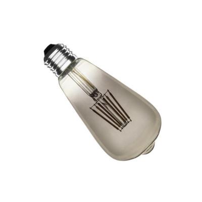 ampoule led filament dimmable culot e27 verre fumée-edison-500 lumens-2200k