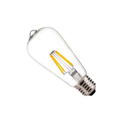 ampoule led filament culot e27-forme standart halogene 60w-550 lumens-dimmable