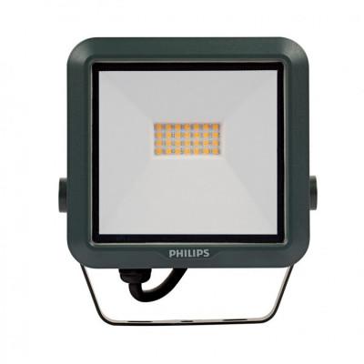 Projecteur à Led philips etanche ip65-ik07-exterieur noir-blanc neutre 4000k-2500 lumens