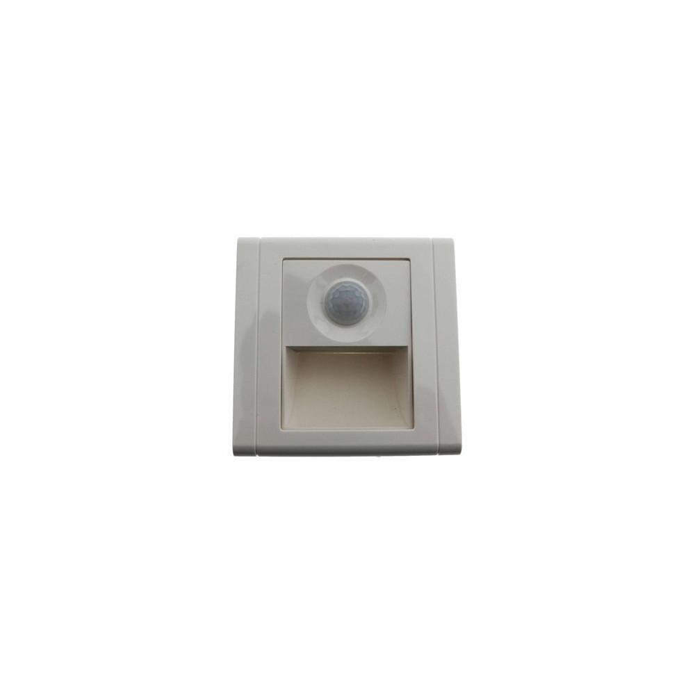 spot de balisage a 15w led d escalier mur encastrable blanc. Black Bedroom Furniture Sets. Home Design Ideas