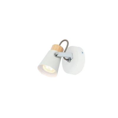 applique-eclairage-mural-ou-de-plafond-spot-patere-orientable-blanc-et-bois-culot-gu10