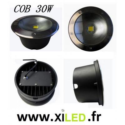 SPOT ENCASTRÉ SOL LED 9W-IP67-BLANC NEUTRE 4500°K