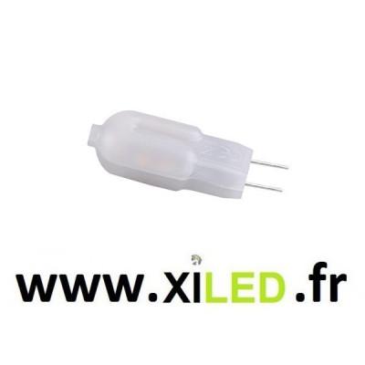 Ampoule g4 led 12v ac/dc-270°- 100 lumens-blanc jour 5000k