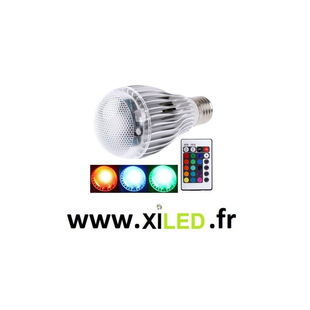 AMPOULE LED 4W E27 BOULE OPAQUE - BLANC FROID