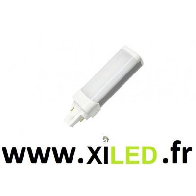 AMPOULE LED 7W CULOT G24-BLANC CHAUD 3000K