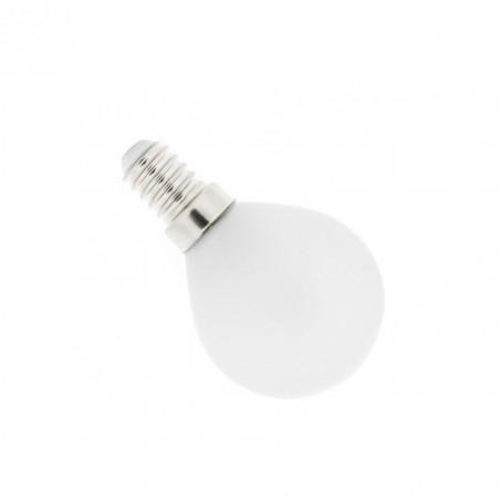 ampoule led 4w-forme petit ballon-360lm-verre opaque blanc laiteux