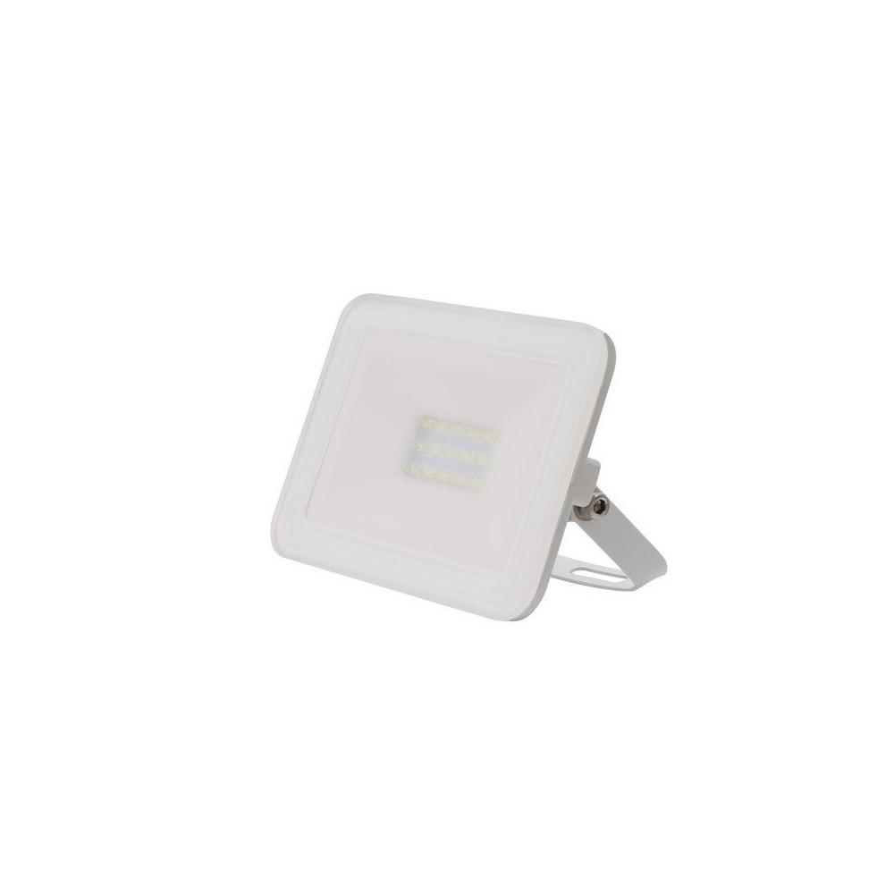 Projecteur a led 10w blanc ultra fin ip65 900lm etanche for Eclairage projecteur exterieur