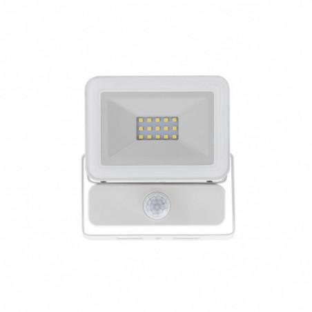 Projecteur Led 50W a detecteur-4000k-blanc-ultra fin-ip65-4000lm-etanche exterieur