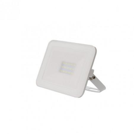 Projecteur à Led 30W-blanc-ultra fin-ip65-2700lm-etanche exterieur-rocaille-jardin