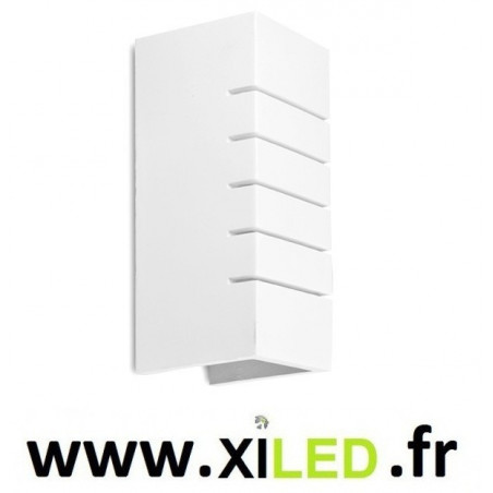 APPLIQUE LED BLANCHE culot e14 5w 3000k-4000k-6000k