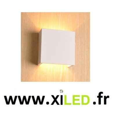 APPLIQUE LED 6W BLANCHE ESMER-BLANC CHAUD 3000k