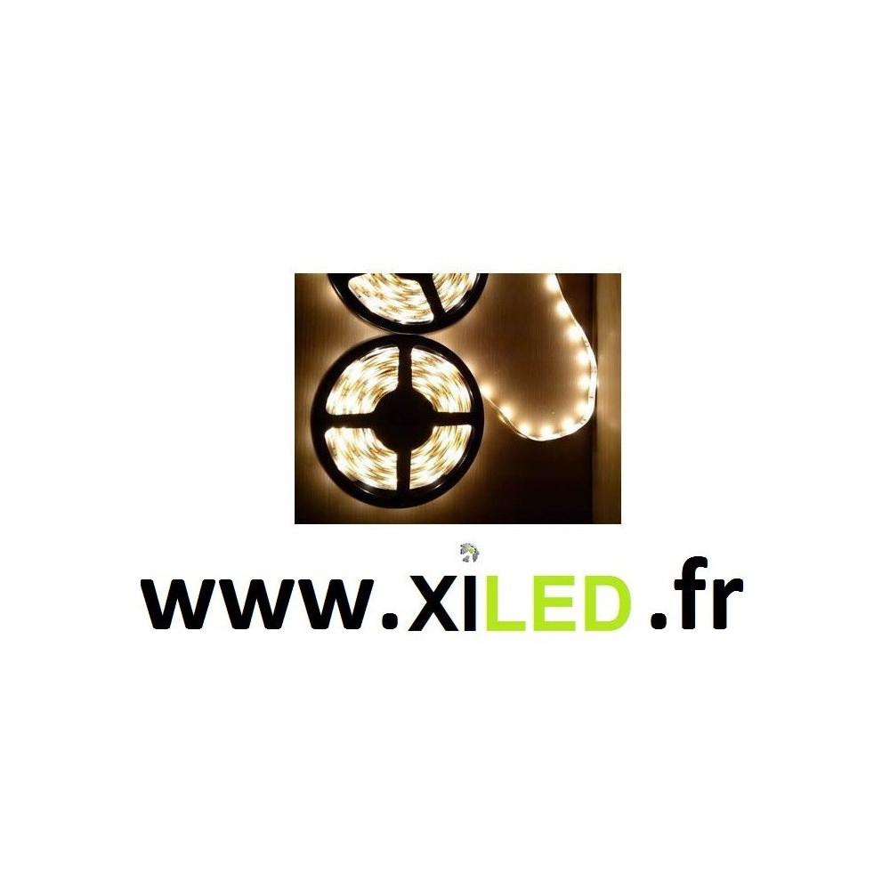 kit ruban 5m led strip monochrome 72w-3000-4000-6000k-12v