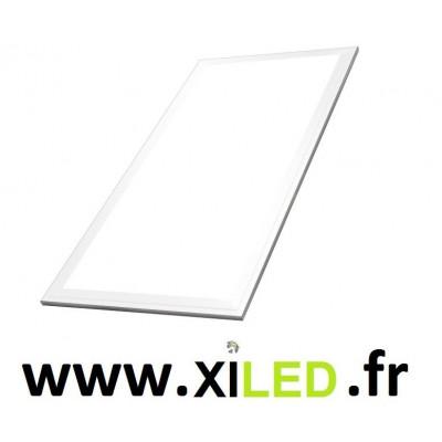 Panneau lumineux LED 39 watts - 300 x 600 mm ALUMINIUM BLANC