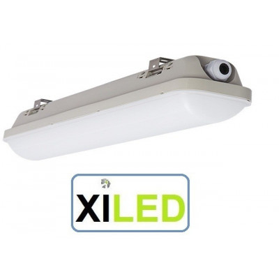 réglette led étanche 60cm-ip65-18w-lumière du jour garage etabli exterieur