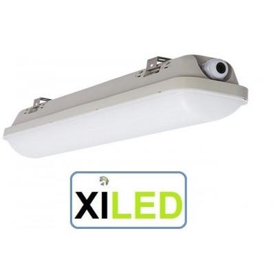 réglette led étanche 60cm-ip65-20w-4000k-lumière du jour garage etabli exterieur