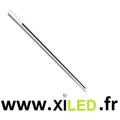 Rail haute tension monophasé blanc 1m