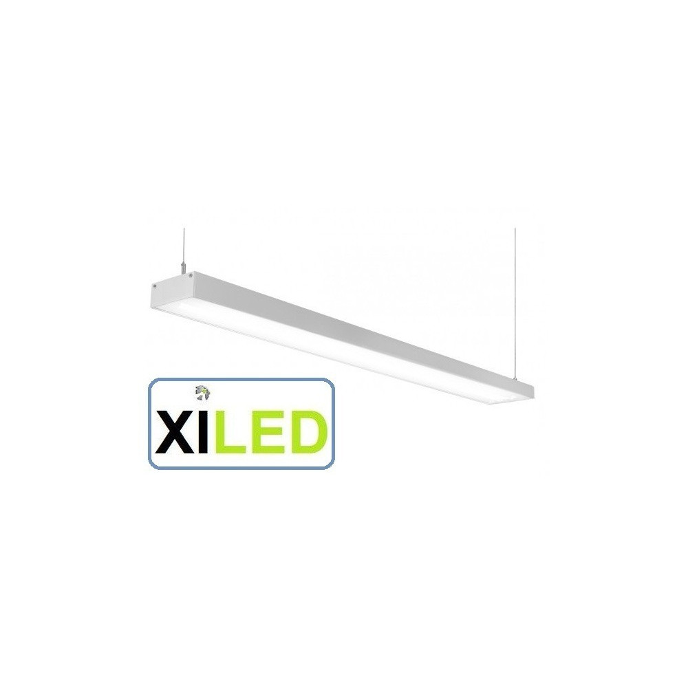 barre aluminium 1m led suspendu luminaire led suspension bureaux salon commerce