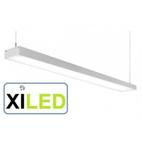 barre aluminium 1m led suspendu luminaire led suspension bureaux salon commerce 50w