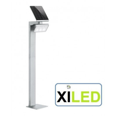 potelet borne Lampe solaire à LED d'extérieur 1.2 W argent Steinel