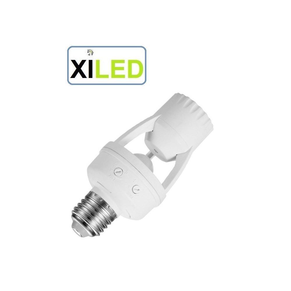 Détecteur Infrarouge Ampoule E27 Gros Culot