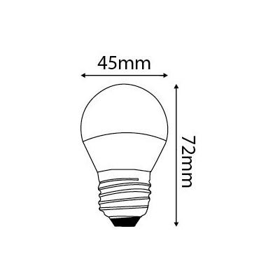 ampoule led 7w culot e27 blanc