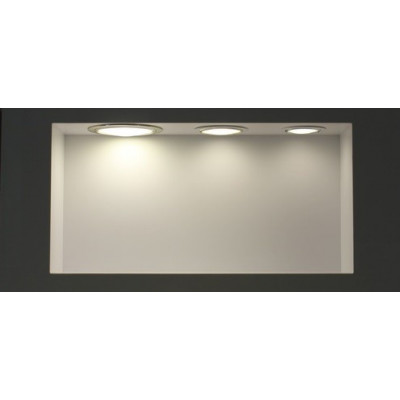 Spot Encastrable led 18w-1400 lumens rond extra plat 205mm-225mm commerce magasin
