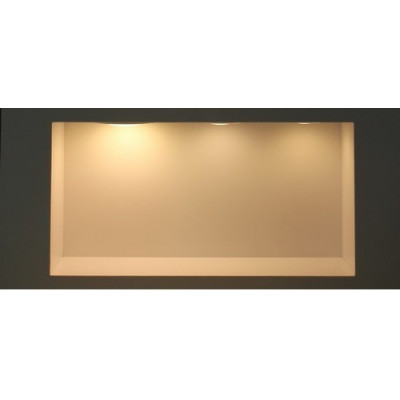 downlight rond Spot Encastrable led 12w-900 lumens noir brillant extra plat