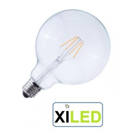 AMPOULE LED BOULE VARIABLE CHAUD 2700K-6.5W diametre 93mm