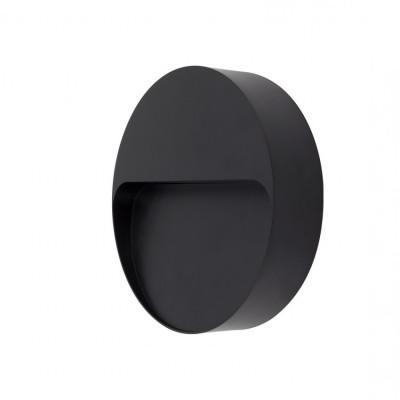 applique exterieur led rectangulaire noire 600lumens 17cm etanche ip65