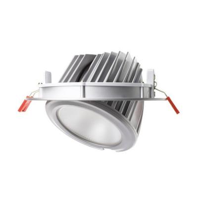 SPOT LED ESCARGOT SAMSUNG 38W ENCASTRABLE ORIENTABLE JAUNE 3000°K