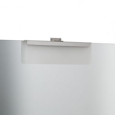 applique led 220v salle de bain fixation miroir ip44 5w-rectangulaire-6000k-350 lumens sdb